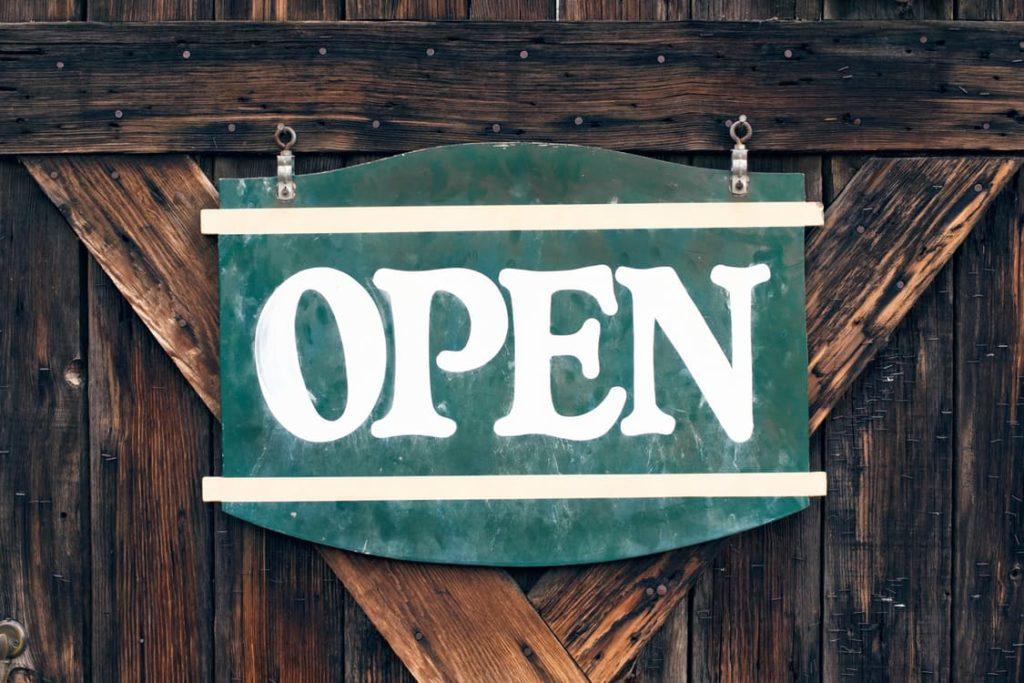 Open Sign - Restaurants