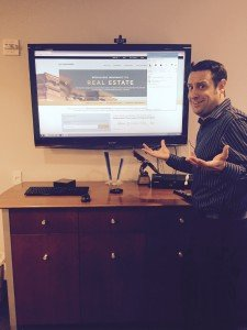 Image- Blog- Dylan Murphy with Smartboard