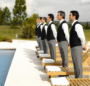 Image - Hotel Employees - Pool