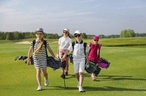 Photo - Children - Golfing Camp Outdoors